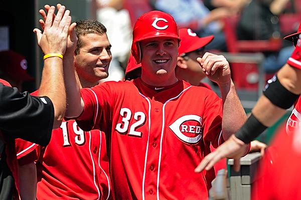 Jay Bruce, the Cincinnati Reds right fielder, and the rest of the team have been on a winning streak. The team's success has led to more fans at the stadium and higher TV ratings.