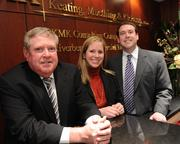 Paul Muething's daughter Julie, center, and son Brian, right, have joined Keating Muething Klekamp as associates. Julie is part of the firm's business representation and transaction practices group, and Brian focuses his practice on litigation, bankruptcy and reorganization.