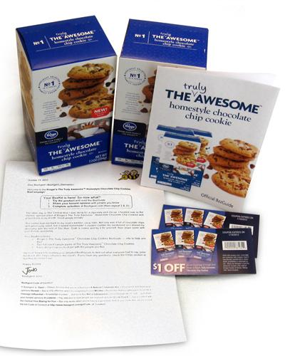 Truly Awesome Chocolate Chip Cookies is one of the Kroger products being reviewed.