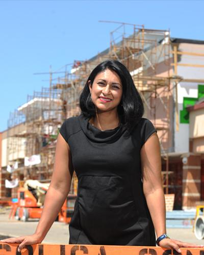 Ami Kulkarni is CEO of Solica Contruction, which her husband, Samir, started in 2008.