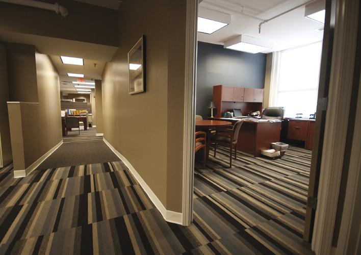 Lifetime Financial Growth bought the historic Fleischmann Building on Plum Street downtown, and renovated the space to better fit its employees' needs.