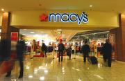 """We feel extremely excited about all three of our major strategies,"" said Macy's CFO Karen Hoguet. Macy's has seven Tri-State stores, including this one in Kenwood Towne Centre."