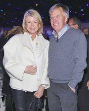 Martha Stewart with J.C. Penney CEO Ron Johnson.