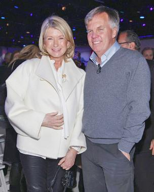 Martha Stewart and J.C. Penney CEO Ron Johnson at the unveiling of his plans to transform the Plano department store.