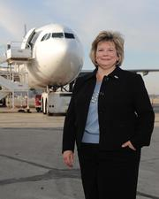 Candace McGraw with Cincinnati/Northern Kentucky International Airport