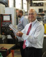 Metalworking Group President Mike Schmitt seized opportunity