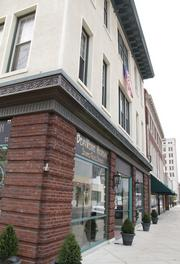 Stained 1054 Bistro and Bella, 1054 Central Ave., received $8,500 for improvements.