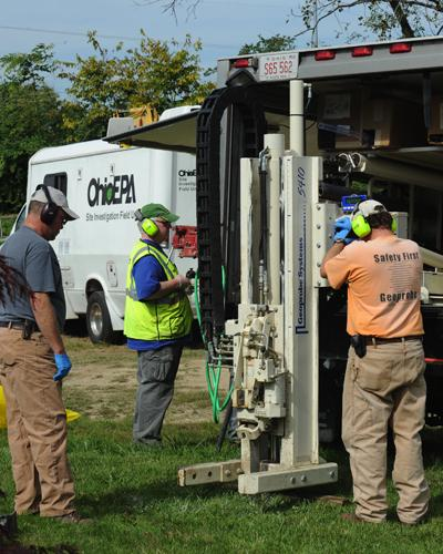 Ohio EPA tested soil samples from Bank Avenue properties last year.