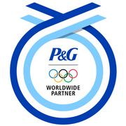 P&G's Olympic graphic, soon to be ubiquitous, was designed by Landor.