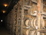 Its brick warehouses have space to age 400,000 53-gallon barrels.