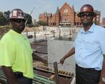 Minority firms carry weight on Washington Park site
