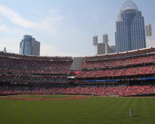 The Cincinnati Reds raised ticket prices for Friday and Saturday games from May to August.