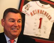 """""""The business community believes the Castellinis are winners,"""" the Reds' Bill Reinberger said."""