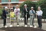 Jewish Foundation breaks ground for aquatic center