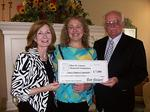 Ganson Memorial Foundation presents grant to Cancer Support Community