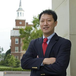 University of Cincinnati's interim president, Santa Ono