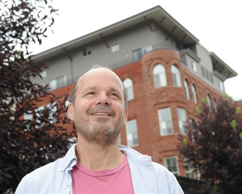 Andrew Howe made a deal to restart  the Schoolhouse Lofts project.