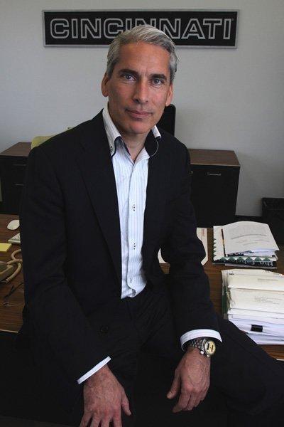 Michiel Schuitemaker is CEO of tool maker Cincinnati Inc.