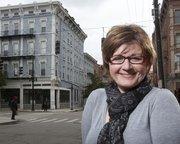 """I pretty much grew up never feeling safe,"" said Tammy Schwartz, of her work at Miami University's urban teaching program. Schwartz herself was raised on food stamps in Cincinnati."