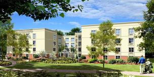 The expansion and renovation of Twin Towers retirement community will begin this month.