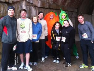 USI was a sponsor of the Nutrition Council's Food on the Run 5K run and 10K walk.