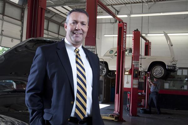 Tom Wiedemann, president of AAA Allied Group, said the company's new Cherry Grove store was expanded from an auto tire and repair center to include insurance and travel services.