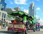 Pedal Wagon hits its stride