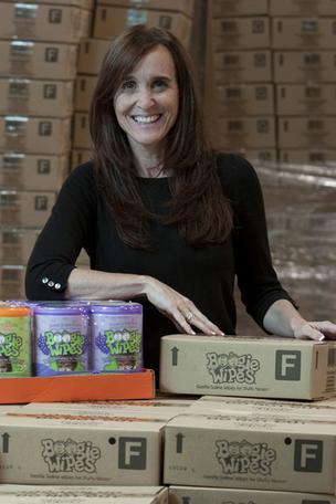 """People here understand brands,"" said Boogie Wipes creator Julie Pickens."