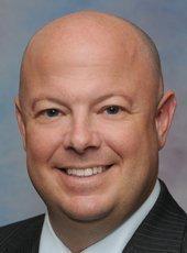 Dan Kenady, senior portfolio manager at Key Private Bank's downtown office.