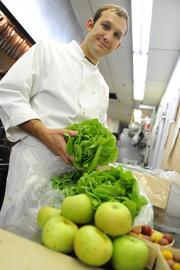 "Chef Mark Bodenstein says ""A restaurant can sustain itself off local farms, keep good prices and turn a profit."""