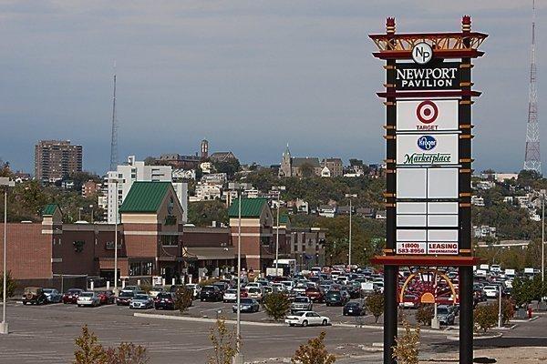 The Newport Pavilion development off Interstate 471.