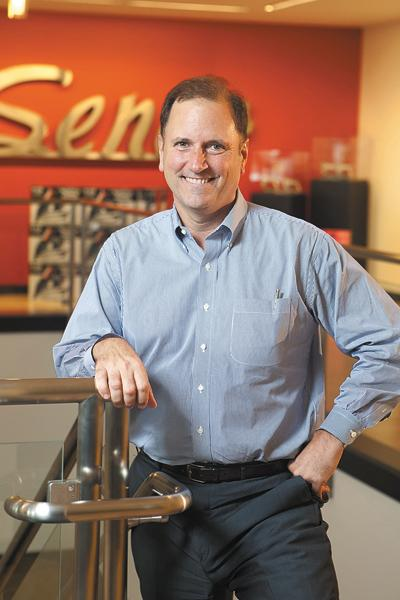 """Senco's new owners """"haven't hesitated for a minute"""" to invest, said Senco CEO Ben Johansen."""