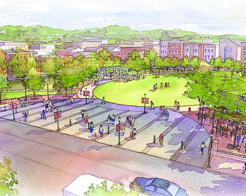 A $48 million expansion of the historic Washington Park in Over-the-Rhine is underway.