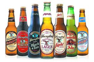 You can get it Oct. 31 on tap, but Yuengling in Cincinnati stores won't be available until later.