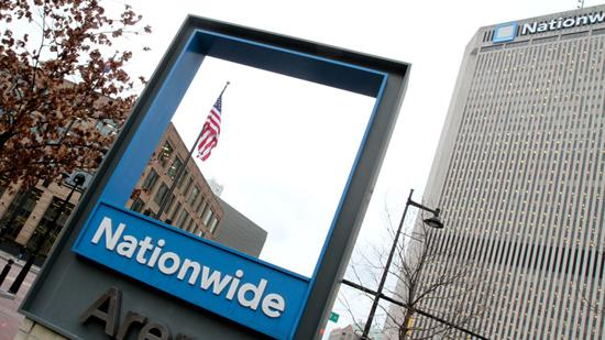 Nationwide posted a $940 million profit in 2012, following a loss of $677 million in 2011.