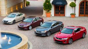 The Accord family of cars are manufactured in Marysville.