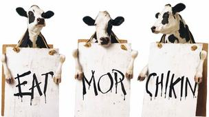 Chick-fil-A, a company known for its clever cow advertisements, is opening a new restaurant on the city's South Side.