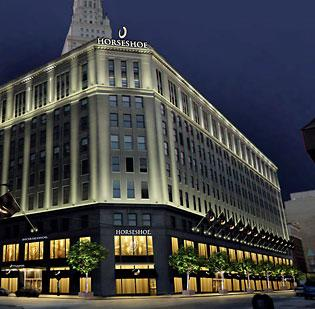 Cleveland's Horseshoe Casino is expected to open first among Ohio's casinos.
