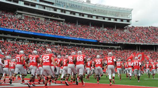 The athletic programs at Texas and Ohio State were among only 23 financially self-supporting programs at NCAA Division I public universities last year.