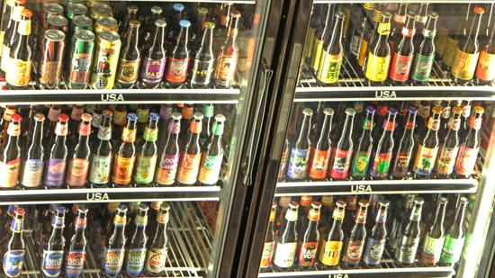 World of Beer plans to open this summer at McHenry Row in Locust Point. Above, the selection of bottles at a World of Beer in Columbus, Ohio.