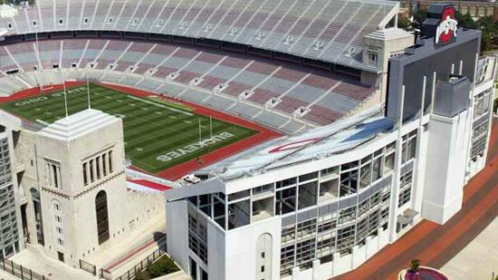 Ohio Stadium will host a Buckeyes-Longhorns tilt in 2023.