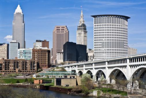Cleveland leaders are launching a $350 million project to build around the convention center downtown.