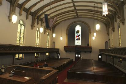 Inside CAPA's new church property