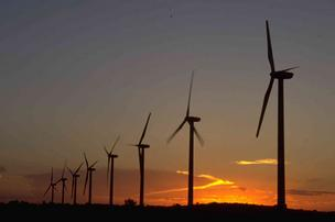 Texas leads the nation in wind energy.