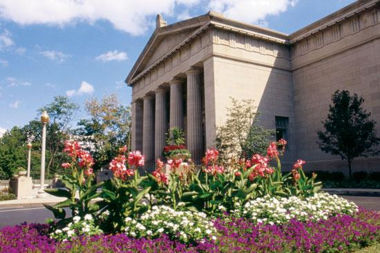 The Cincinnati Art Museum is located in Eden Park.