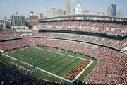 Bengals play in: Paul Brown Stadium, which covers approximately 22 acres and has 65,535 seats.