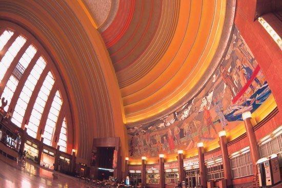 Indoor map of Cincinnati Museum Center added to Google Maps ...