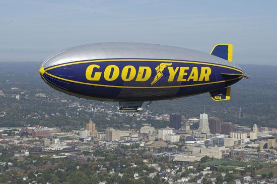The Clemson-So. Carolina game this Saturday won blimp coverage in a contest sponsored by the Goodyear Tire & Rubber Co.
