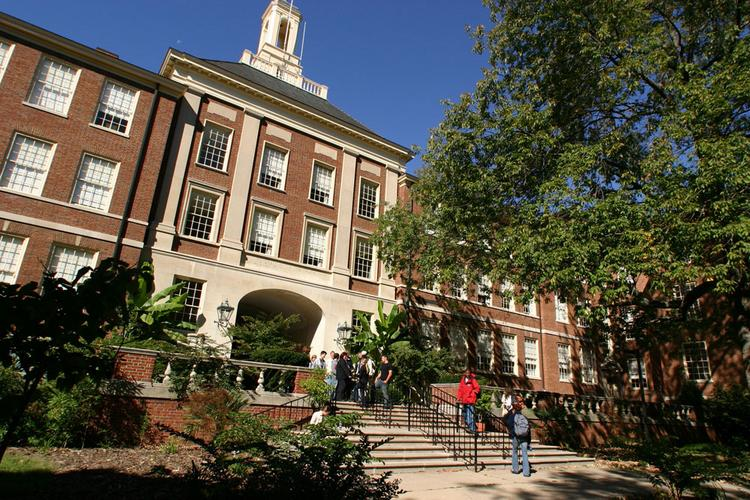 Upham Hall at Miami University, which ranked 89th on U.S. News & World Report's America's Best Colleges list.