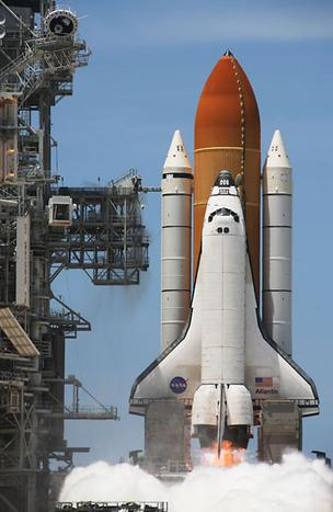 space shuttle atlantis nasa